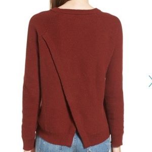 Madewell Province Cross Back Knit Pullover